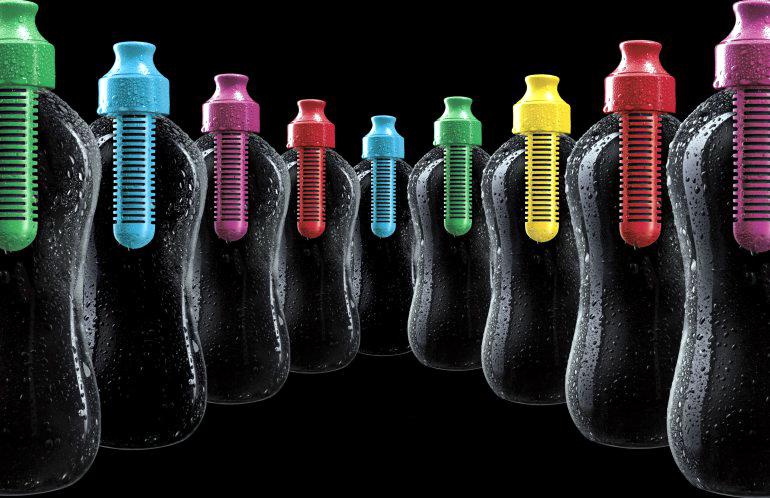 Bobble - бутылки для воды с угольным фильтром