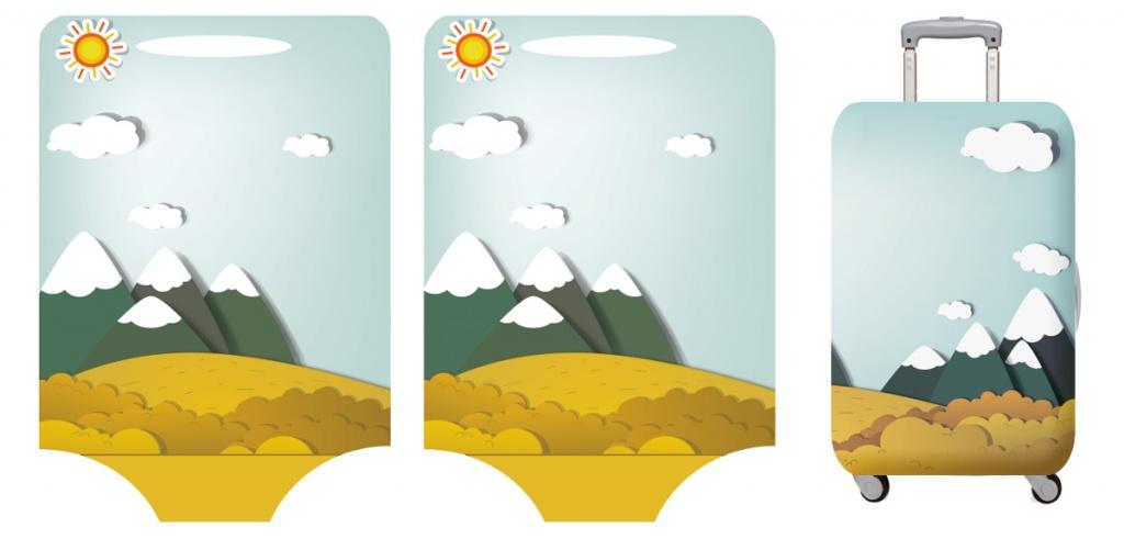 Оптом: чехлы для чемоданов с логотипом
