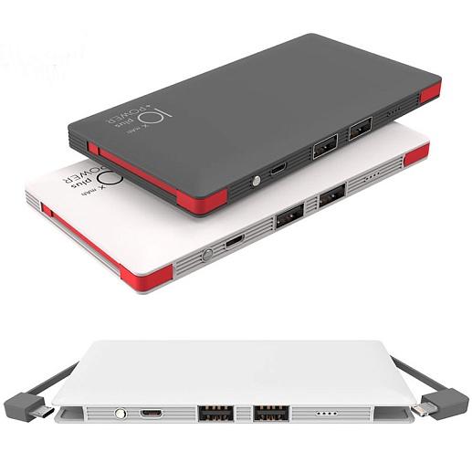 Аккумулятор для 2х устройств 10000 mAh- фото 1